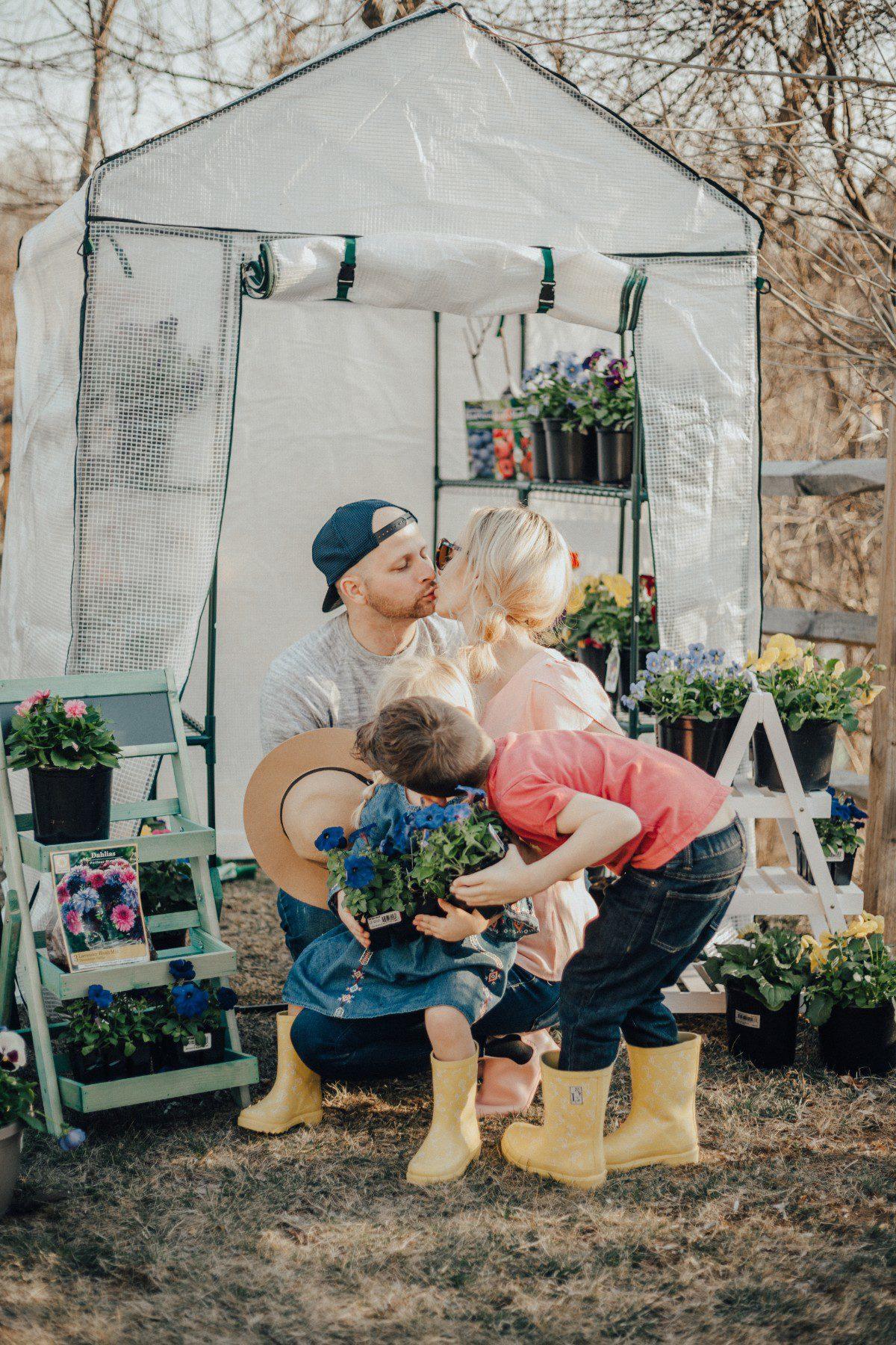 spring garden work children